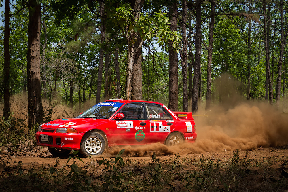 HI-TEK Team with victory in Thailand Rally F2 2015 1st Round