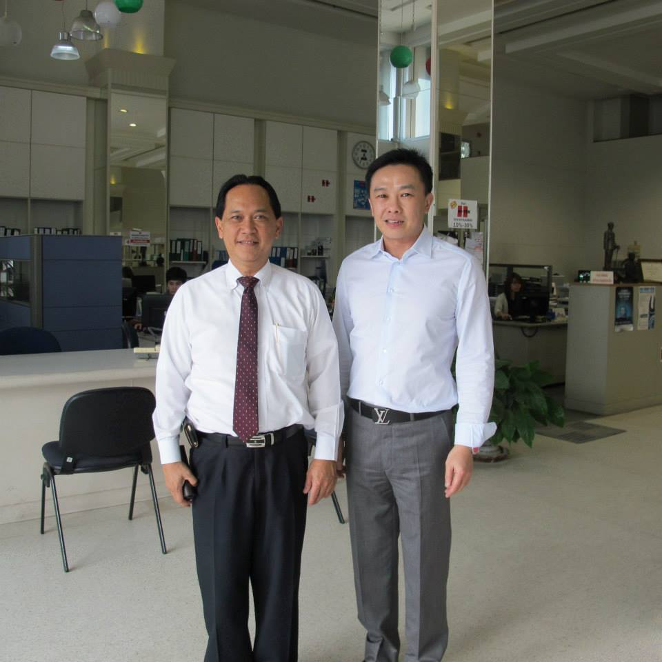 Secretary General of the Thai Industrial Standards Institute visit company